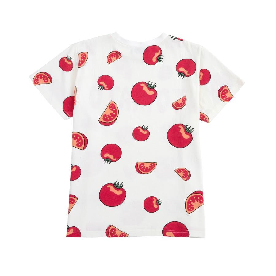 フード総柄Tシャツ 5