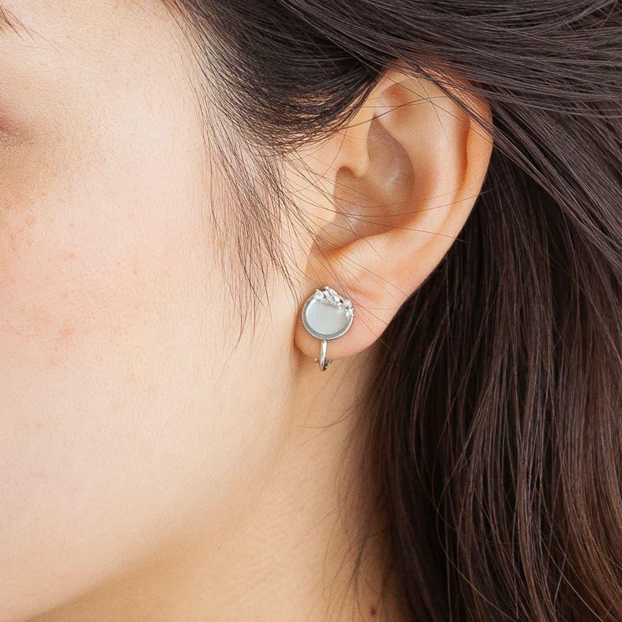 circle bijou earring 4