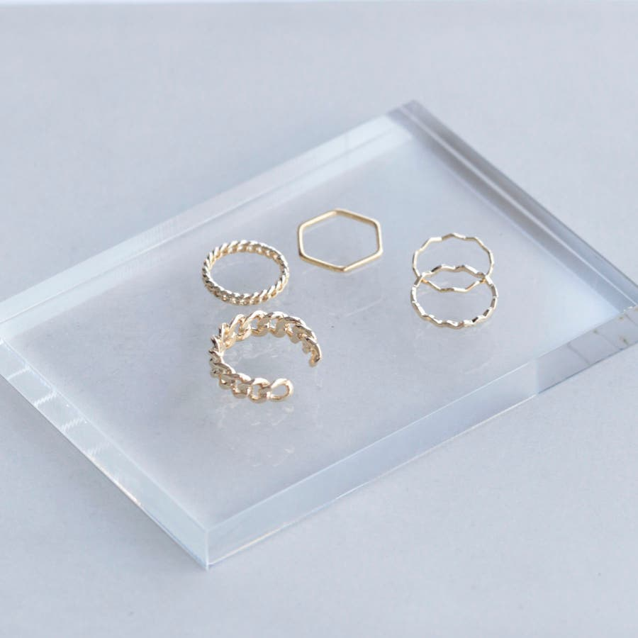twisty fifth set ring 105