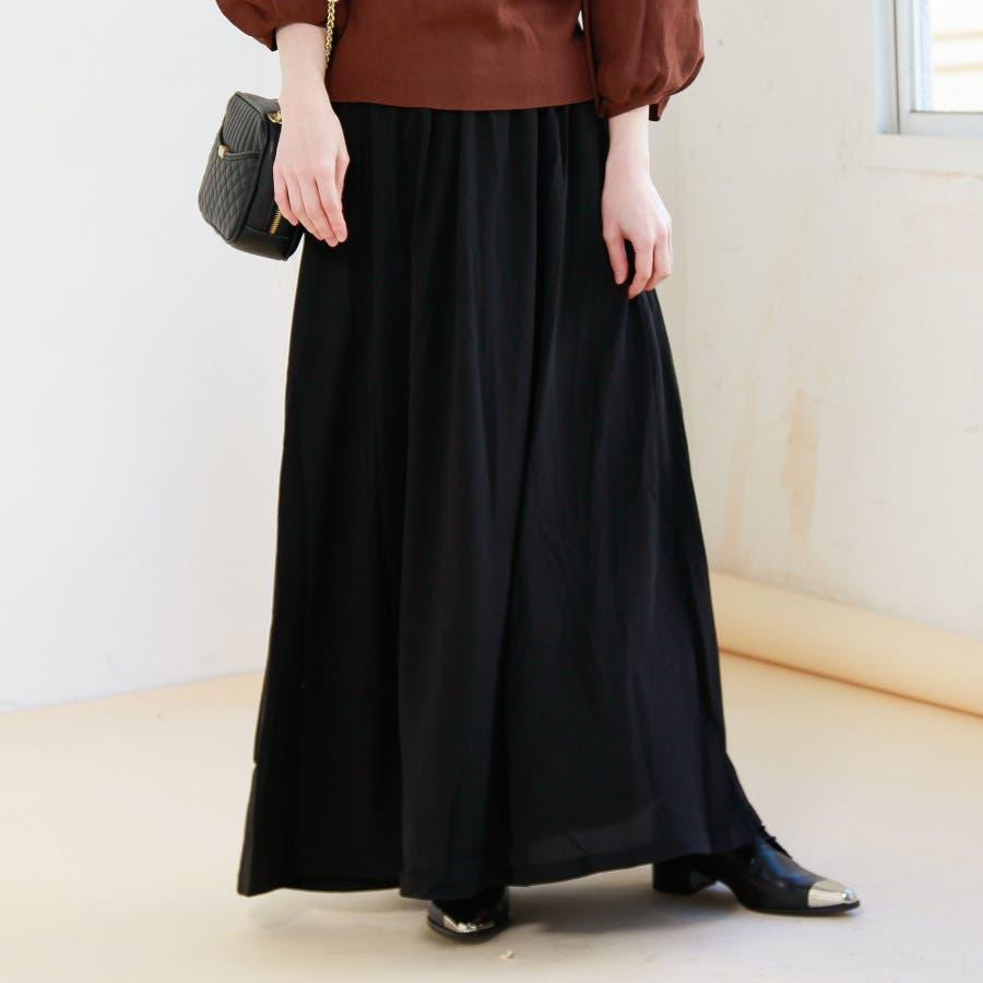 ジョーゼットロングスカート 21