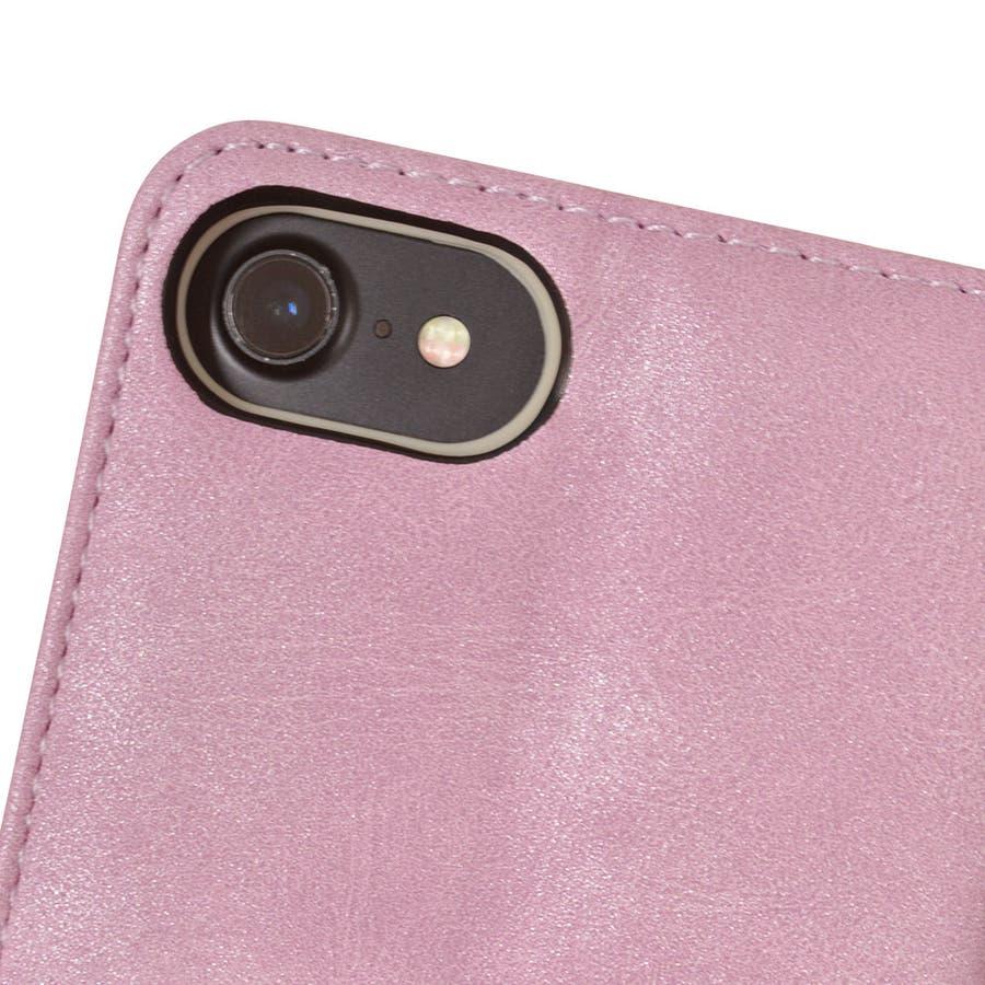 ラスタバナナ iPhone SE 第2世代 iPhone8 iPhone7 iPhone6s 共用 ケース カバー 手帳型ハンドストラップ付き 花柄 アイフォン SE2 2020 スマホケース 6