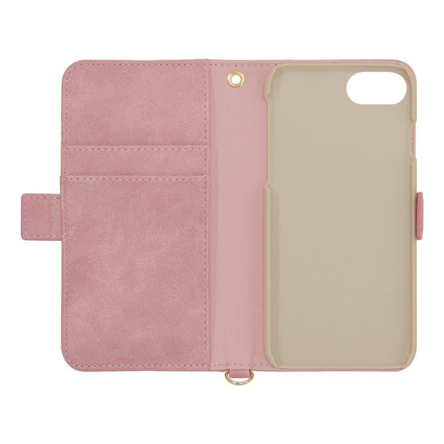ラスタバナナ iPhone SE 第2世代 iPhone8 iPhone7 iPhone6s 共用 ケース カバー 手帳型ハンドストラップ付き 花柄 アイフォン SE2 2020 スマホケース 3