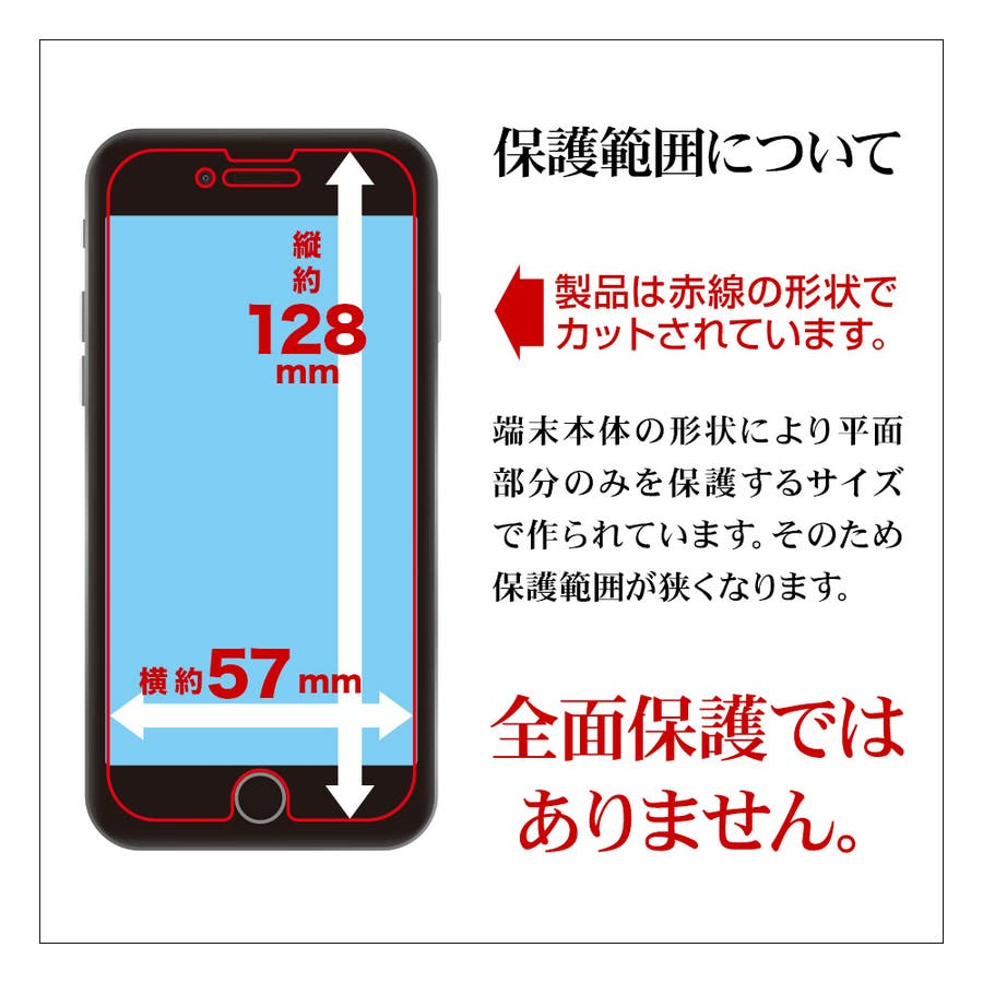 ラスタバナナ iPhone SE 第2世代 iPhone8 iPhone7 iPhone6s 共用 フィルム 平面保護 強化ガラス0.33mm 高光沢 ケースに干渉しない ゴリラガラス採用 アイフォン SE2 2020 液晶保護フィルム GG2471IP047 2