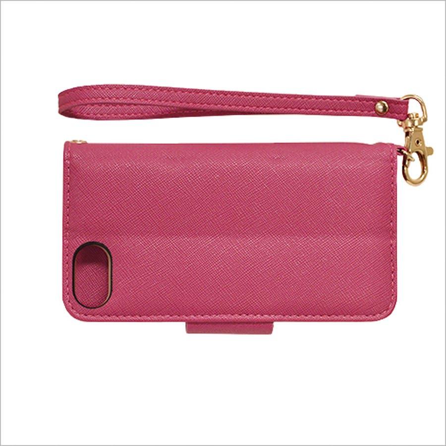 ラスタバナナ iPhone SE 第2世代/8/7/6s/6 ケース/カバー 手帳型 viviana2 ミラー付き かわいい 女子おしゃれアイフォンスマホケース 4