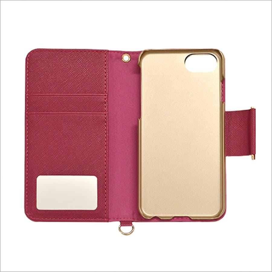 ラスタバナナ iPhone SE 第2世代/8/7/6s/6 ケース/カバー 手帳型 viviana2 ミラー付き かわいい 女子おしゃれアイフォンスマホケース 5