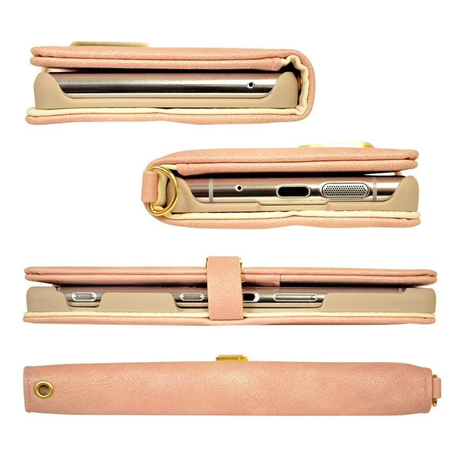 ラスタバナナ Xperia 5 SO-01M SOV41 ケース カバー 手帳型 viviana スウェード調エクスペリア5スマホケース 7