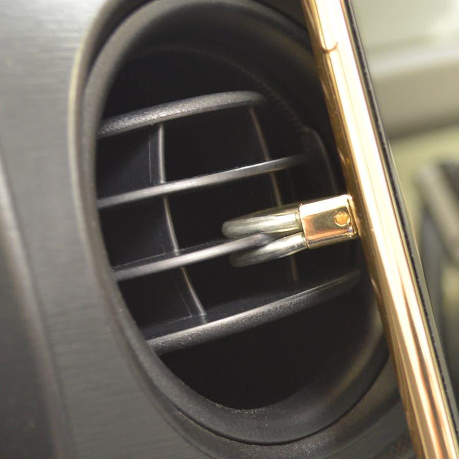 ラスタバナナ iPhone スマホ 2in1 スマホリング エアコン送風口対応 車載ホルダー 落下防止リング 視聴スタンド ブラック 6