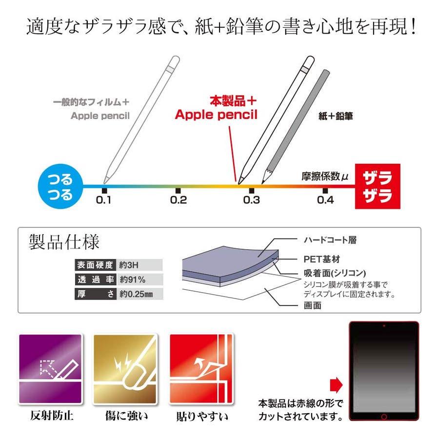 ラスタバナナ フィルム iPad Air3 第3世代 iPad Pro 10.5インチ 平面保護 ペーパーライク アイパッド液晶保護PL1820IPA3 4