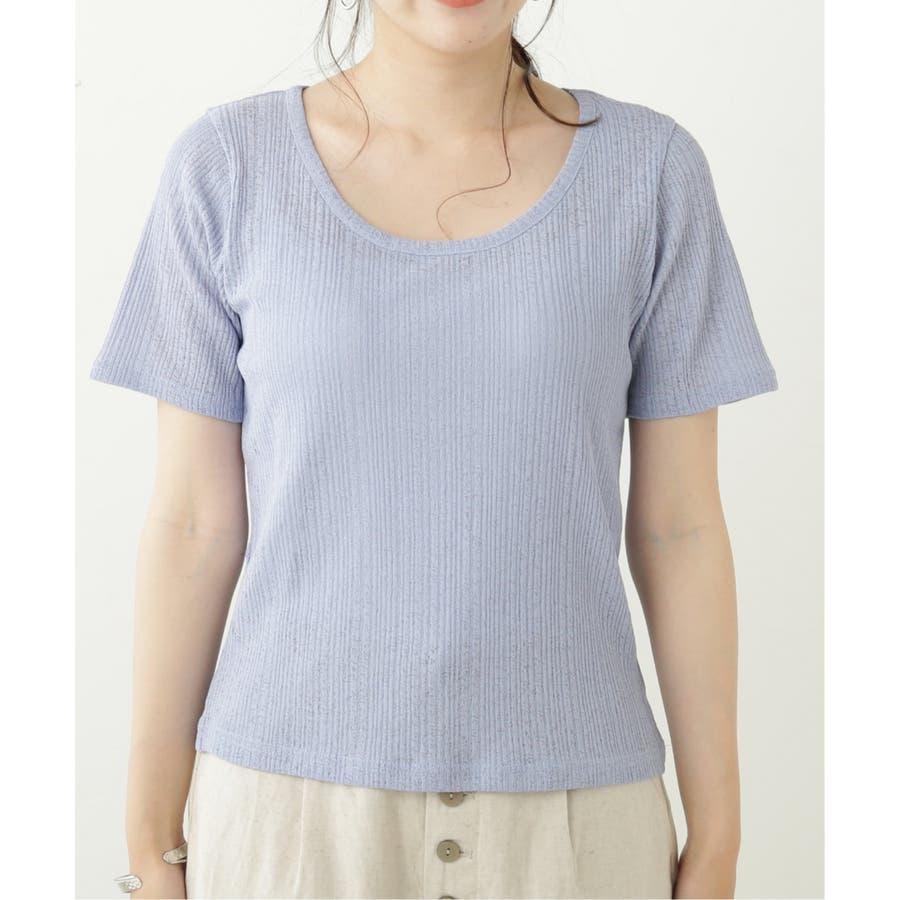シアーコンパクトTシャツ 4