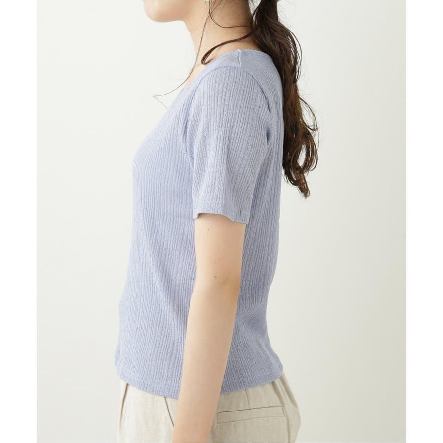 シアーコンパクトTシャツ 5