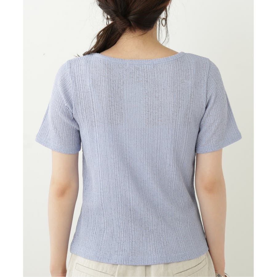シアーコンパクトTシャツ 6