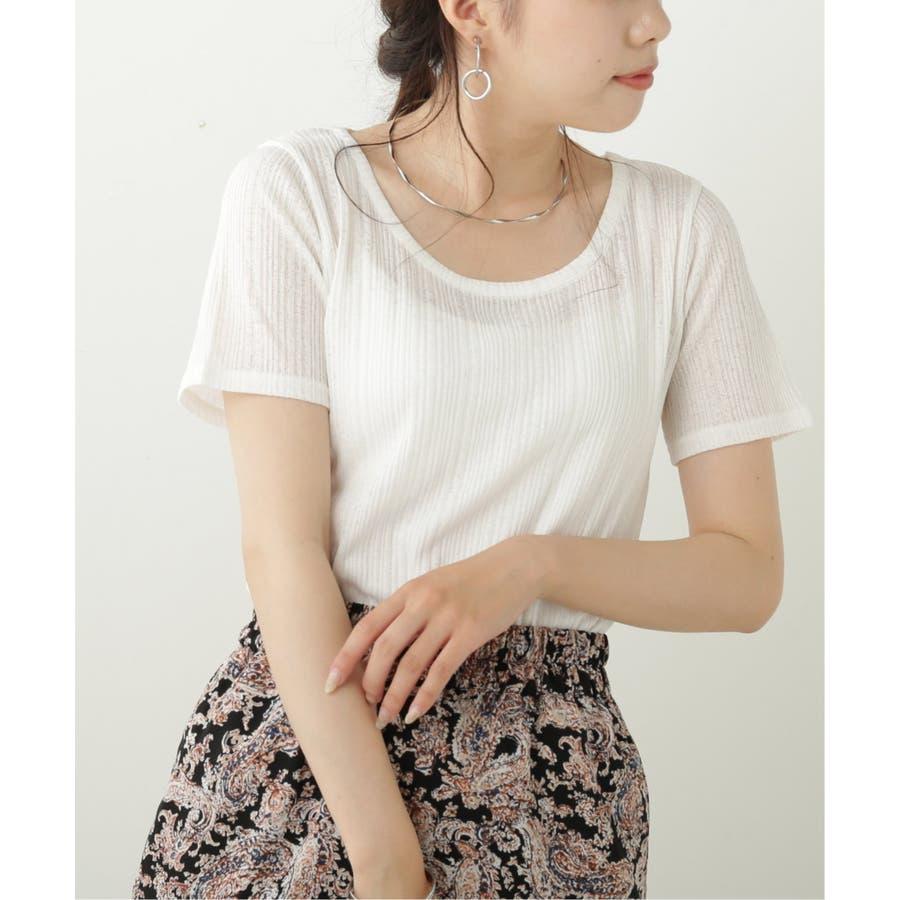 シアーコンパクトTシャツ 17
