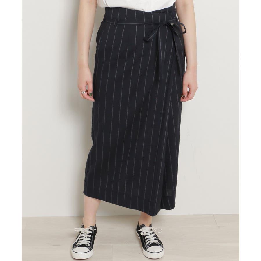 リネンラップスカート 1