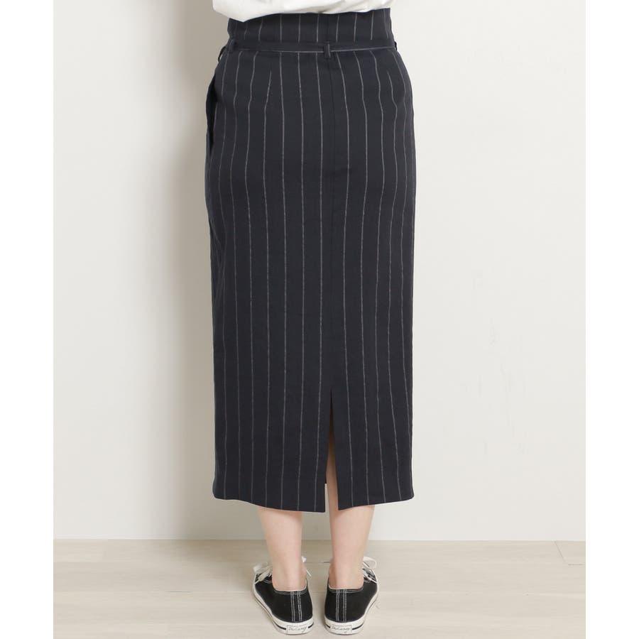 リネンラップスカート 7
