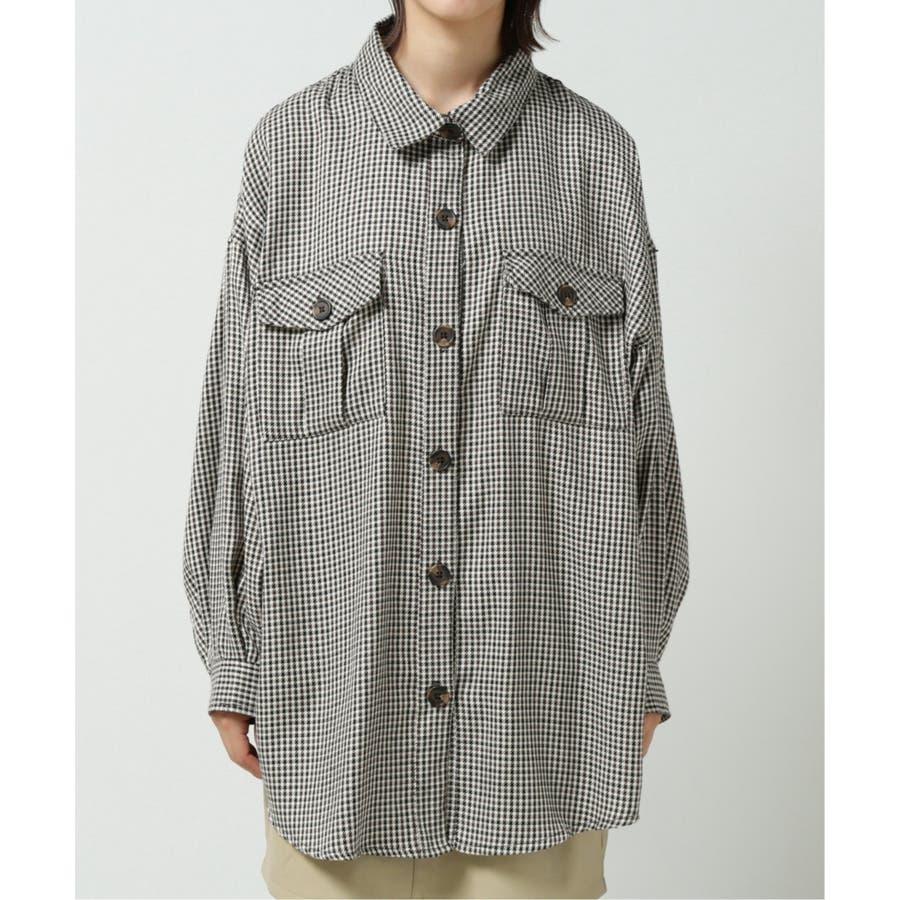 バックプリーツCPOシャツ 5