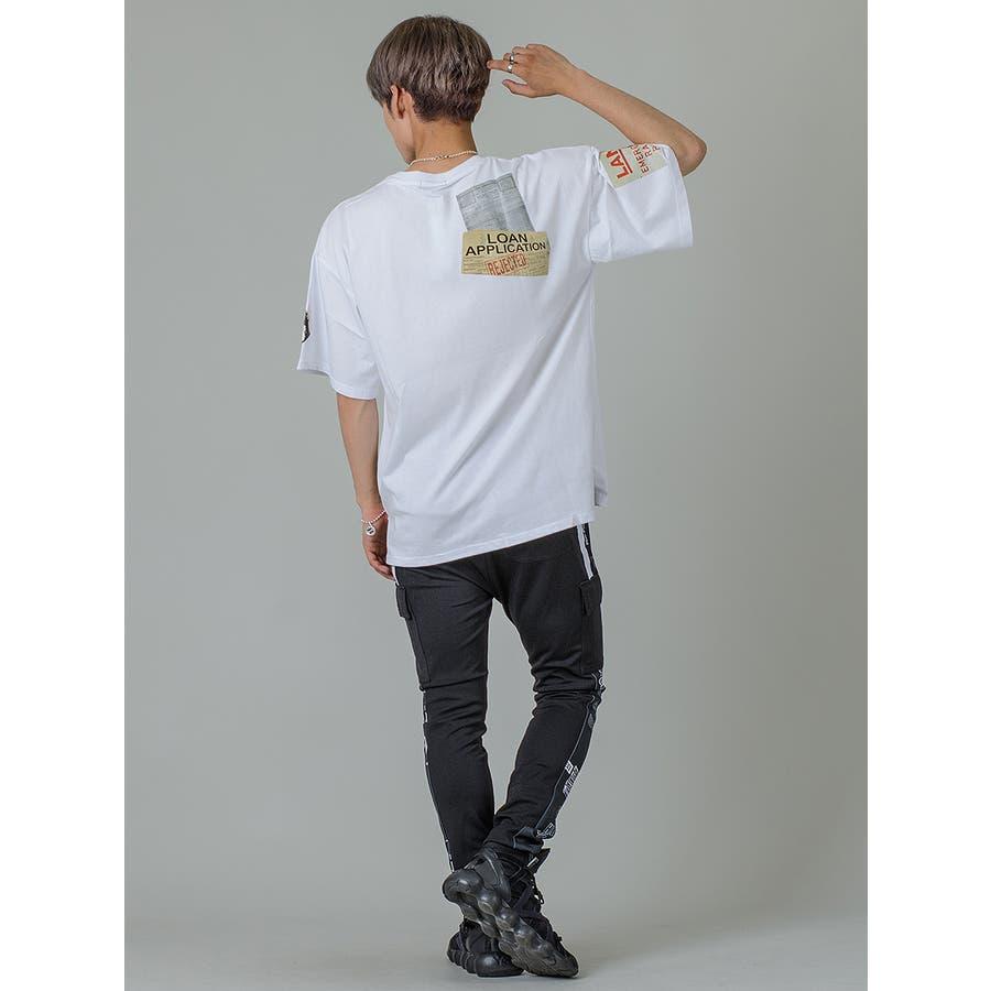 【ワッペンプリントビッグTシャツ】 7
