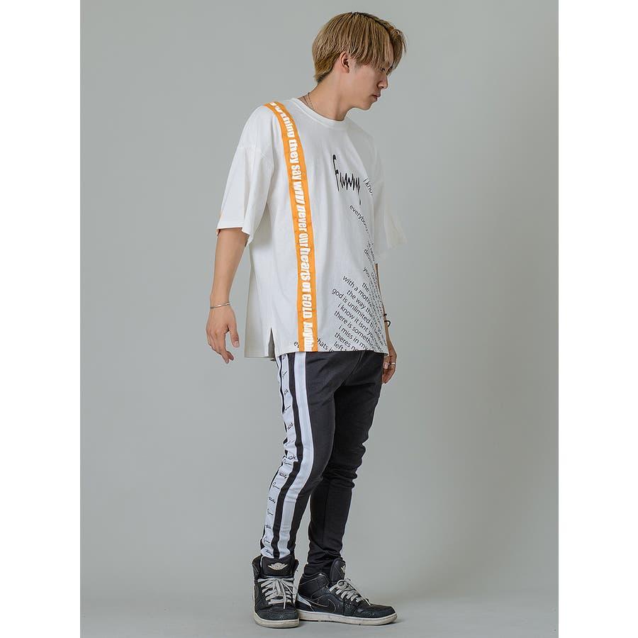 【テーププリントビッグTシャツ】 5