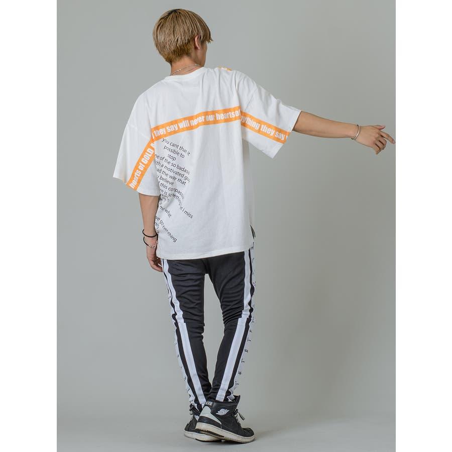 【テーププリントビッグTシャツ】 6