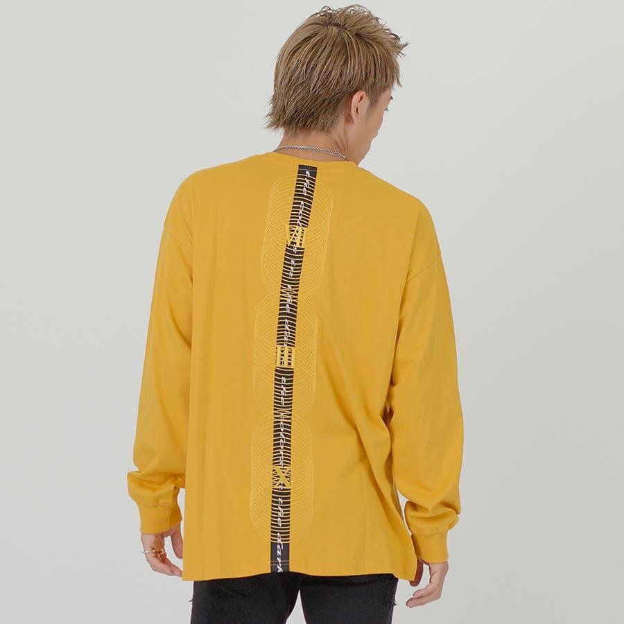 サークル刺繍ビッグロンT 85
