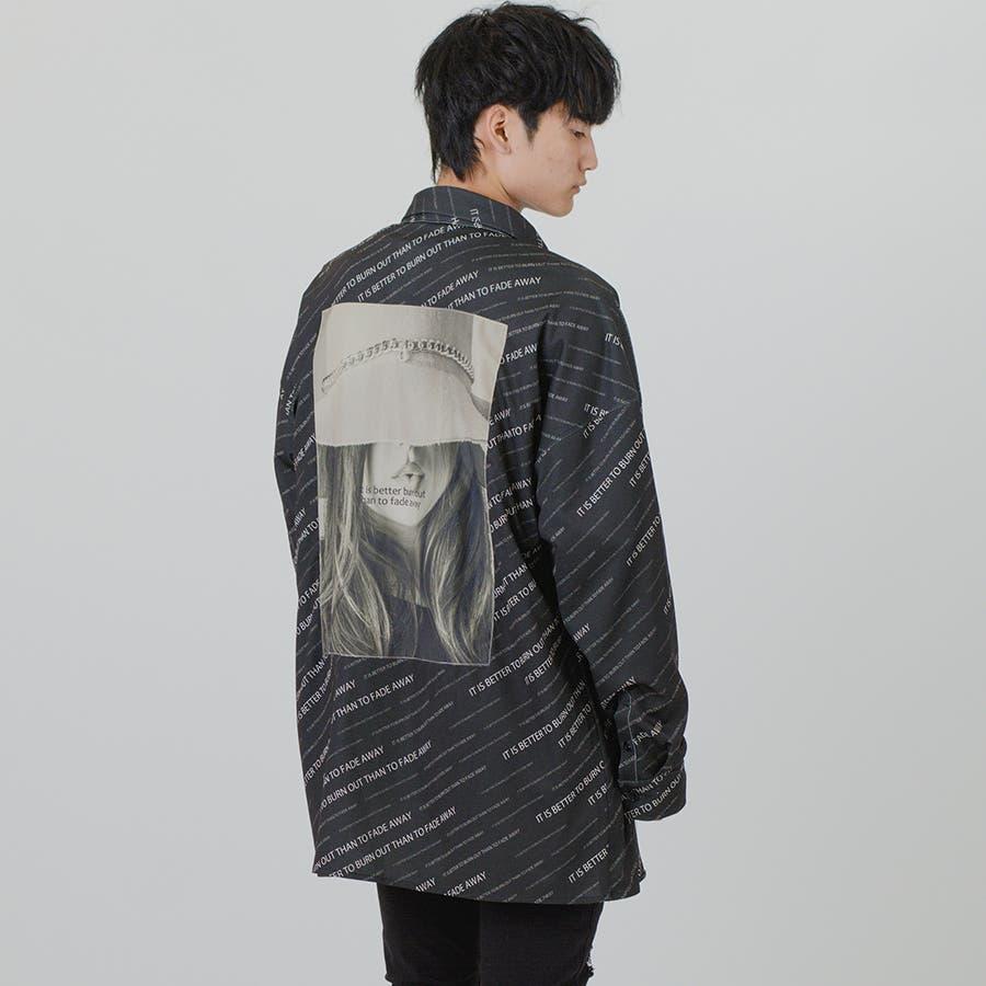 【総柄ビッグシャツ】 21