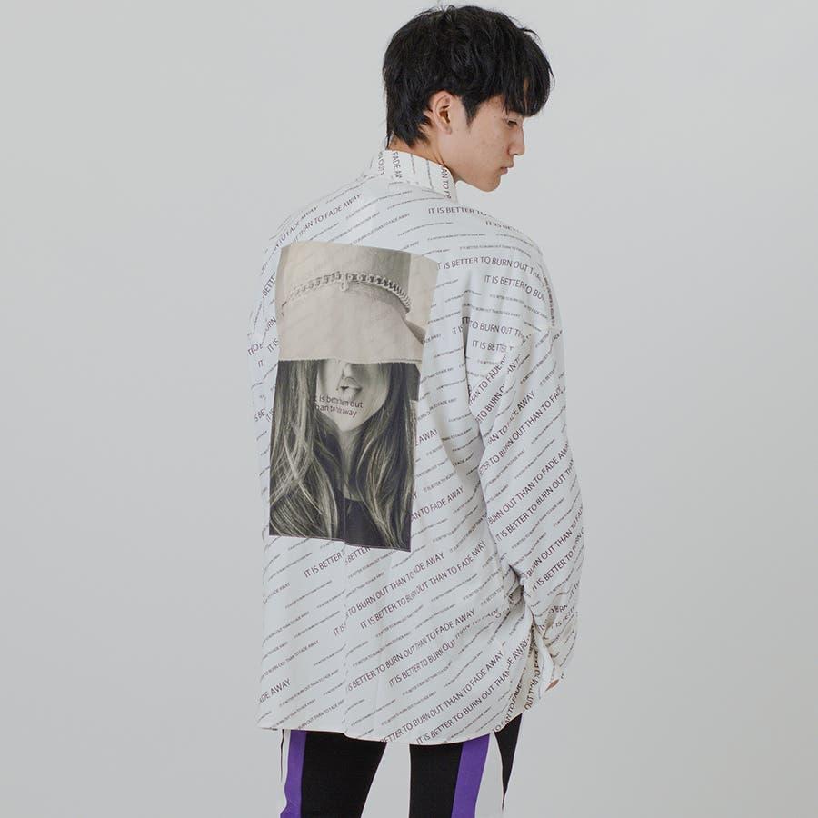【総柄ビッグシャツ】 16