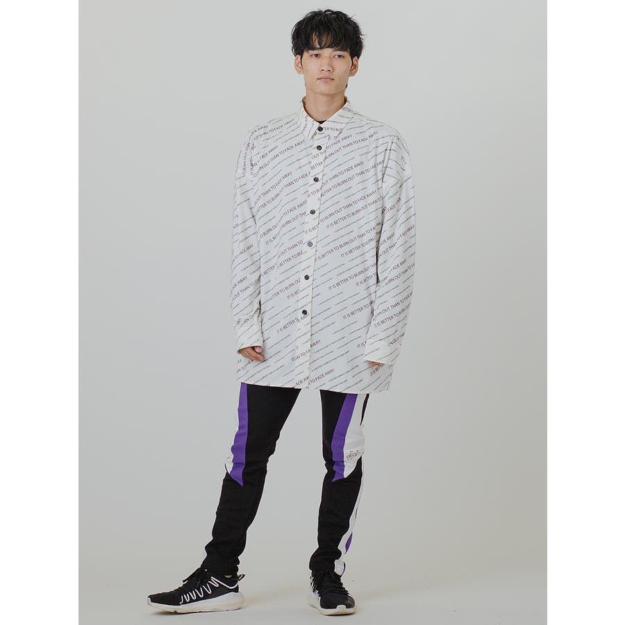 【総柄ビッグシャツ】 5