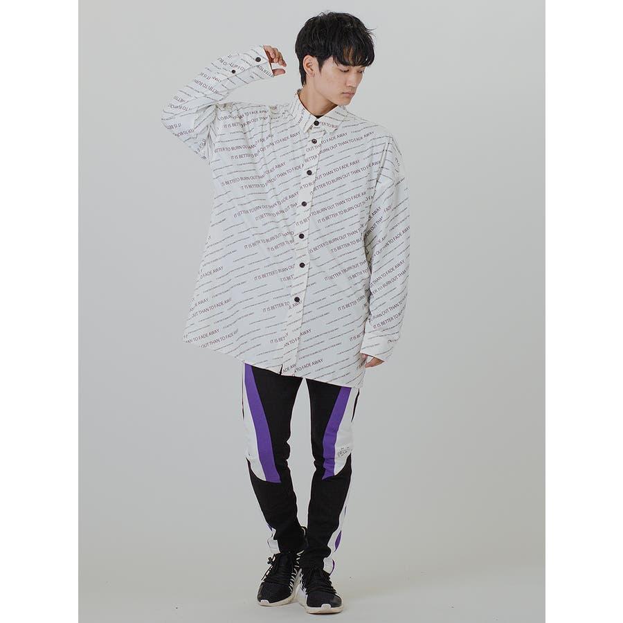 【総柄ビッグシャツ】 6