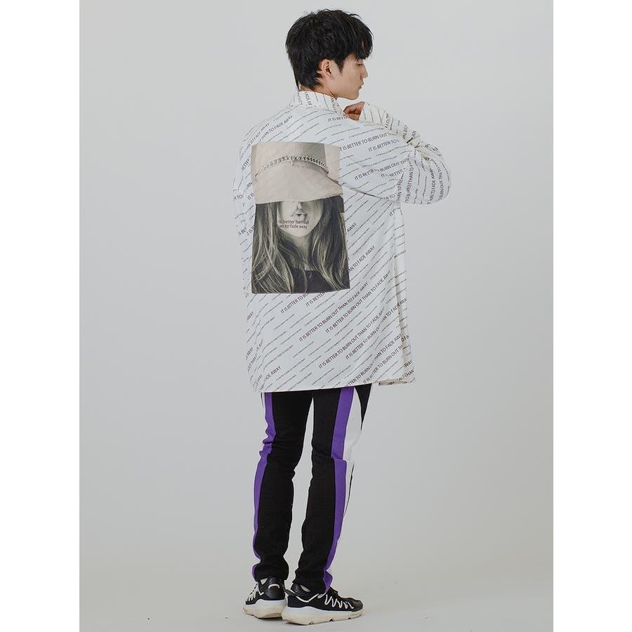 【総柄ビッグシャツ】 7