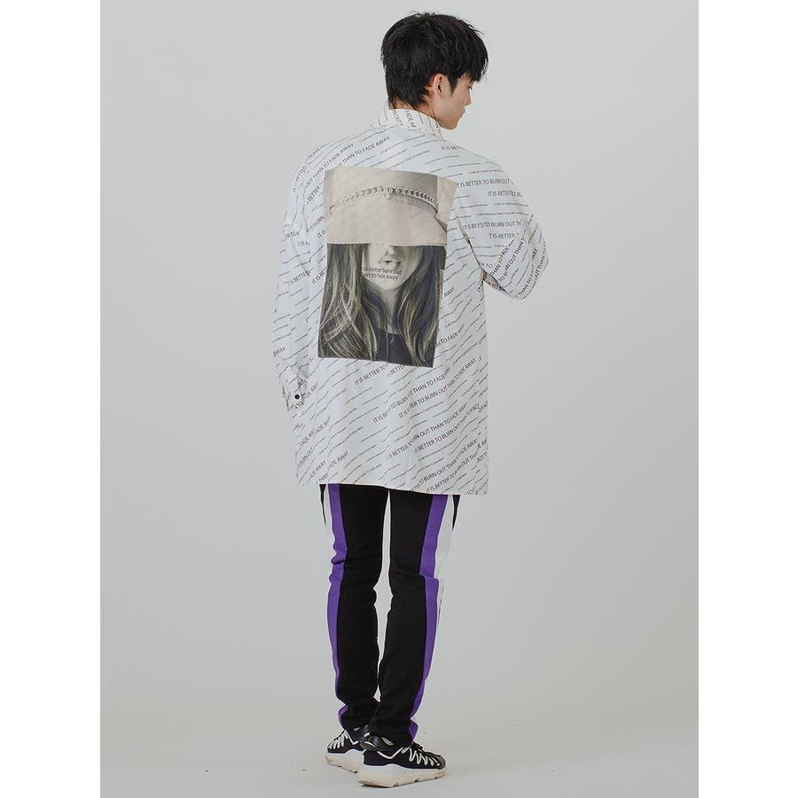 【総柄ビッグシャツ】 8