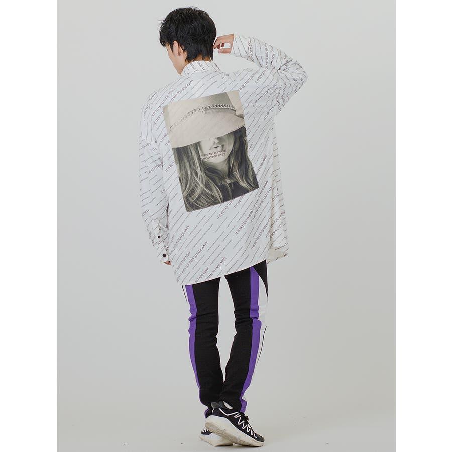 【総柄ビッグシャツ】 9