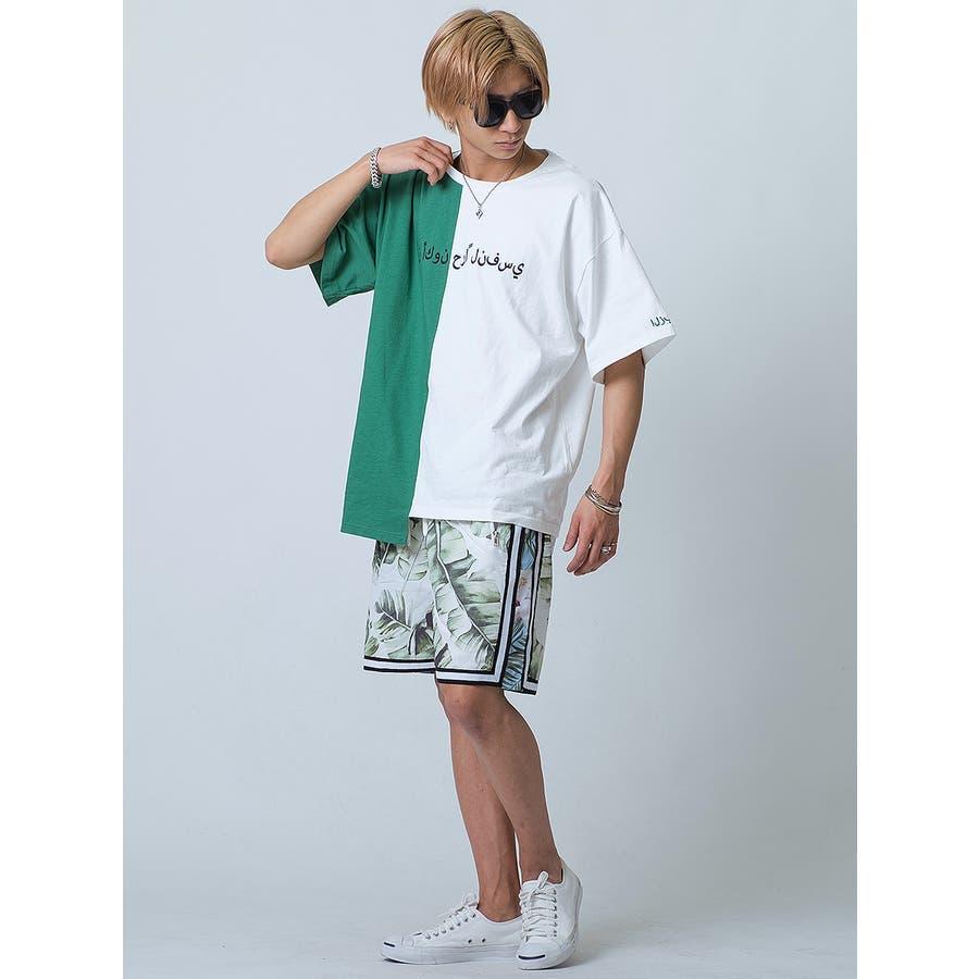 バイカラーアシンメトリーTシャツ 6