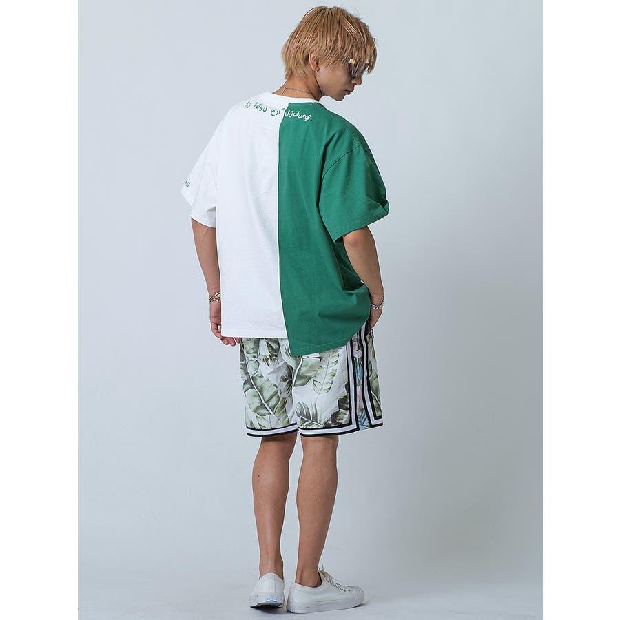 バイカラーアシンメトリーTシャツ 8