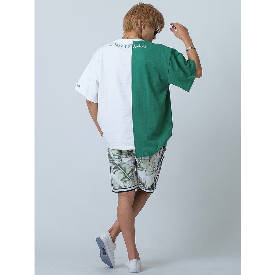 バイカラーアシンメトリーTシャツ 9
