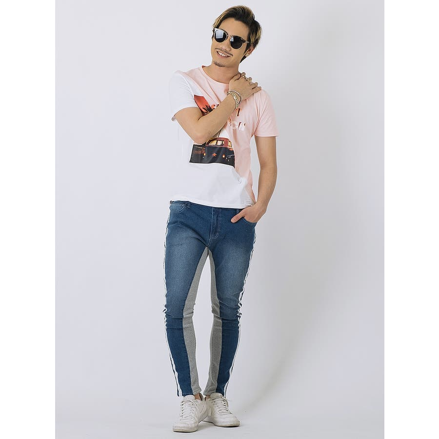SUNSET BEACH切替Tシャツ 10