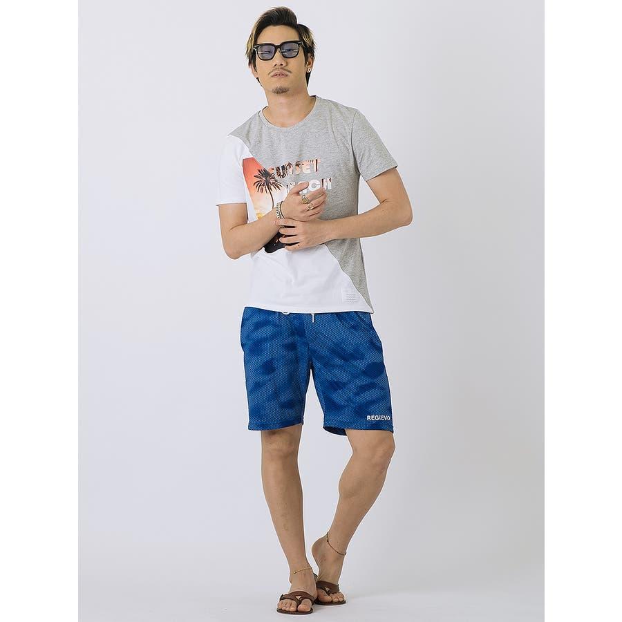 SUNSET BEACH切替Tシャツ 4