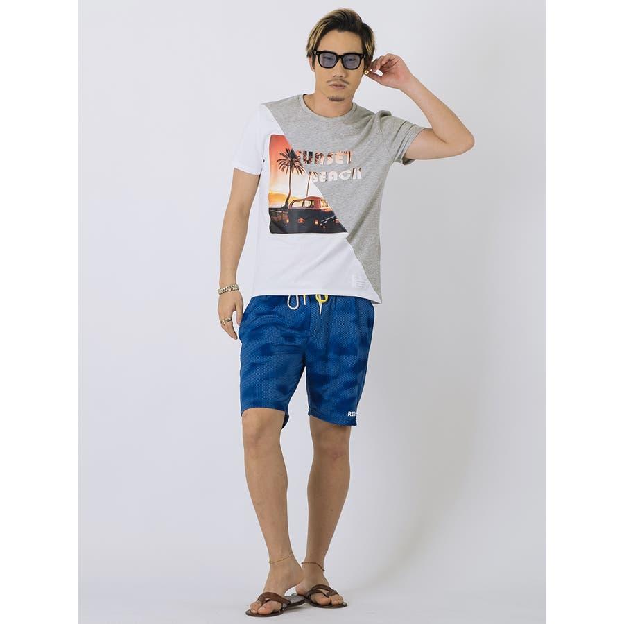 SUNSET BEACH切替Tシャツ 5