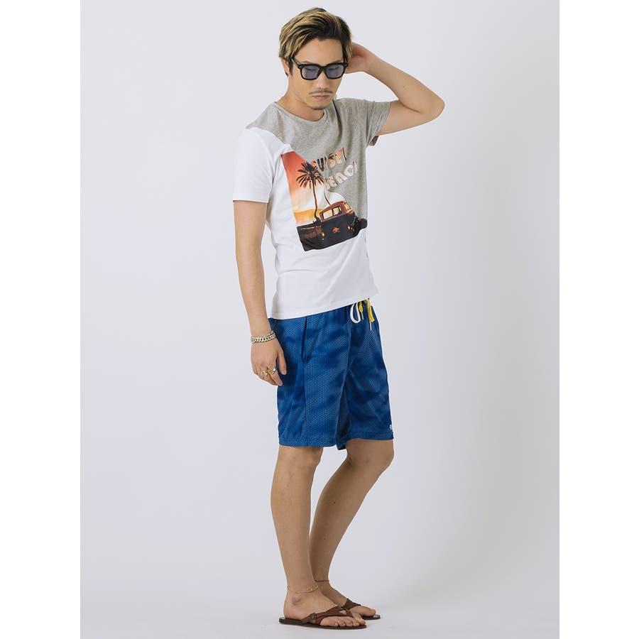 SUNSET BEACH切替Tシャツ 7