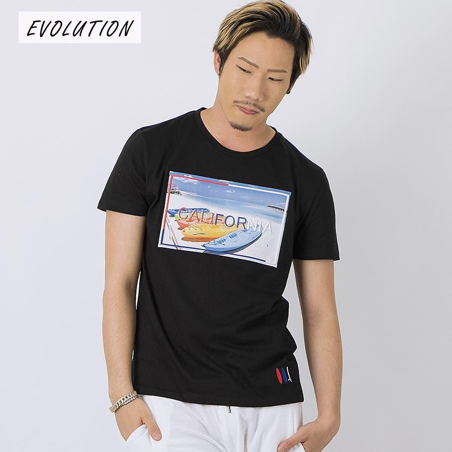 エンボスフォトTシャツ 21
