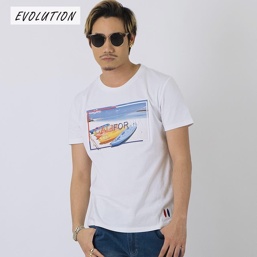 エンボスフォトTシャツ 16