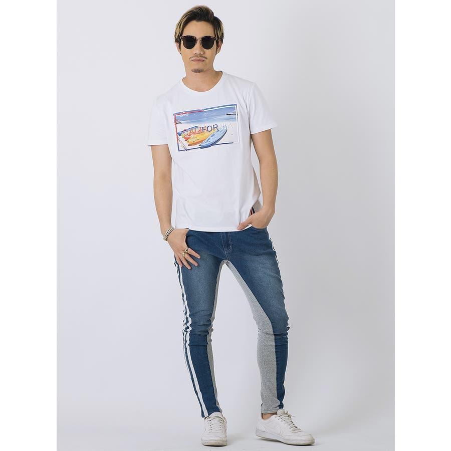 エンボスフォトTシャツ 3