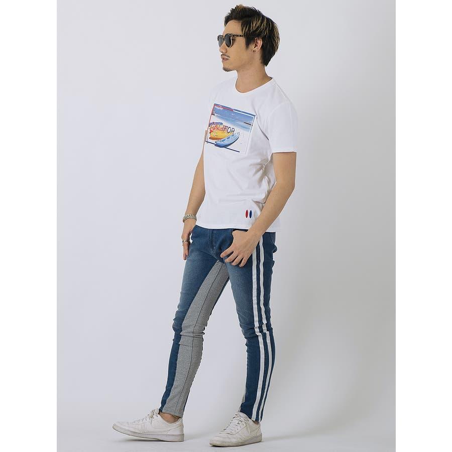 エンボスフォトTシャツ 5
