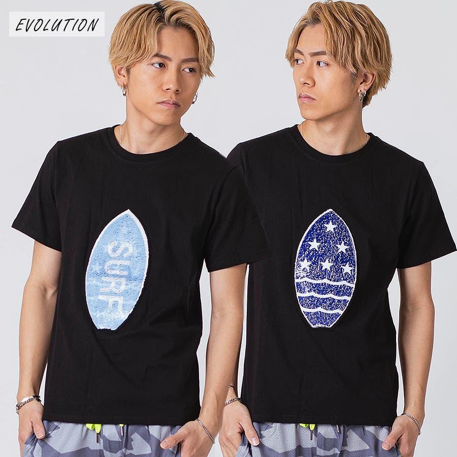 スパンコールTシャツ 3
