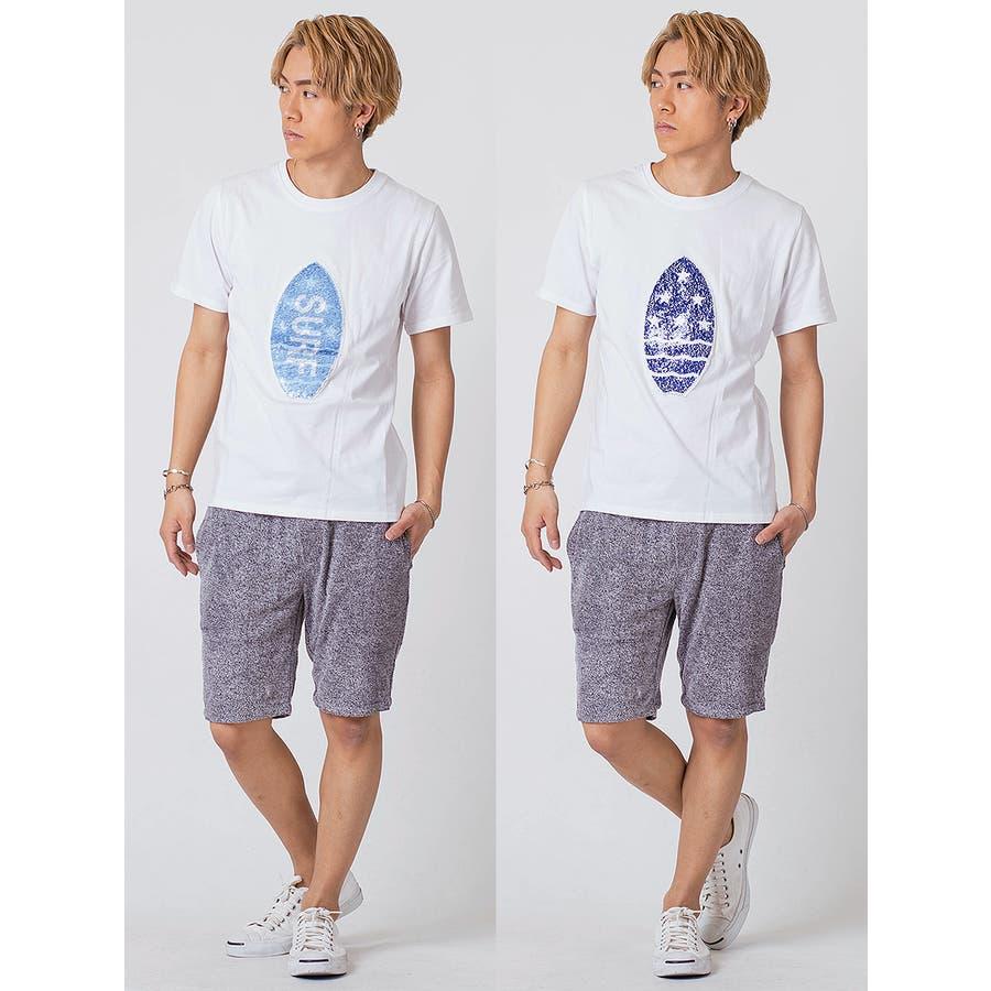 スパンコールTシャツ 5