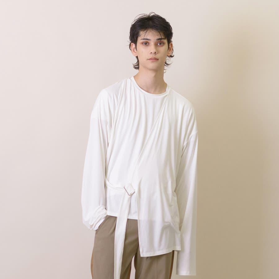 変型ロングスリーブTシャツ 16