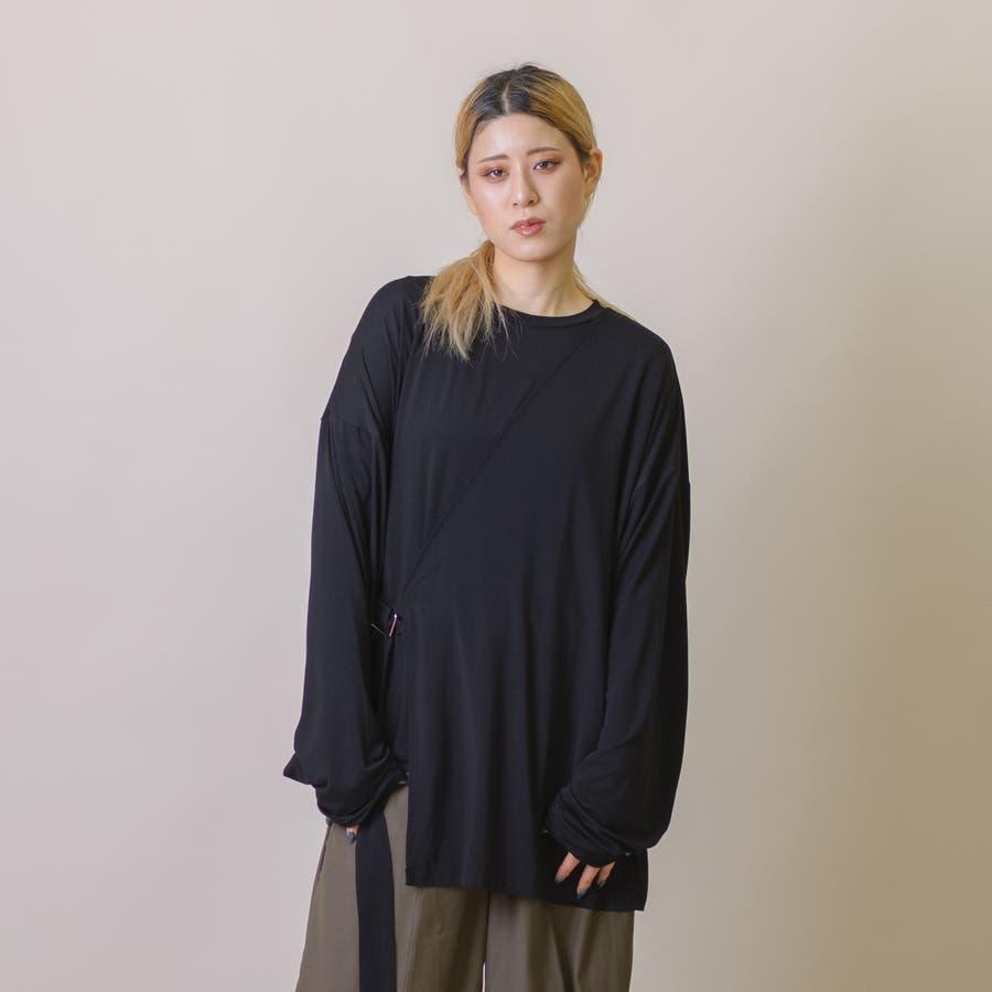 変型ロングスリーブTシャツ 21