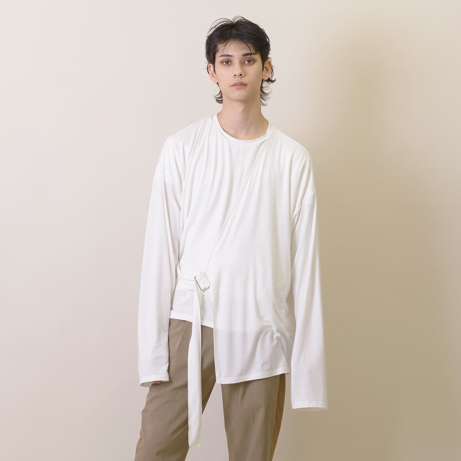 変型ロングスリーブTシャツ 4