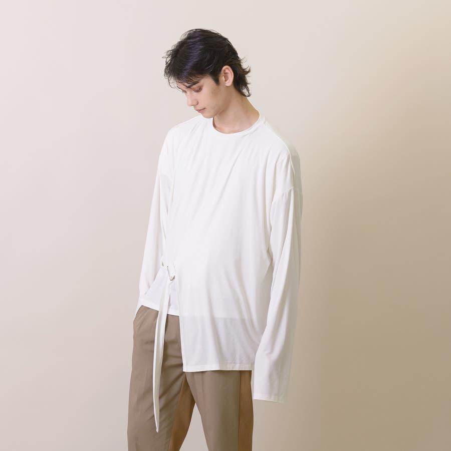 変型ロングスリーブTシャツ 5