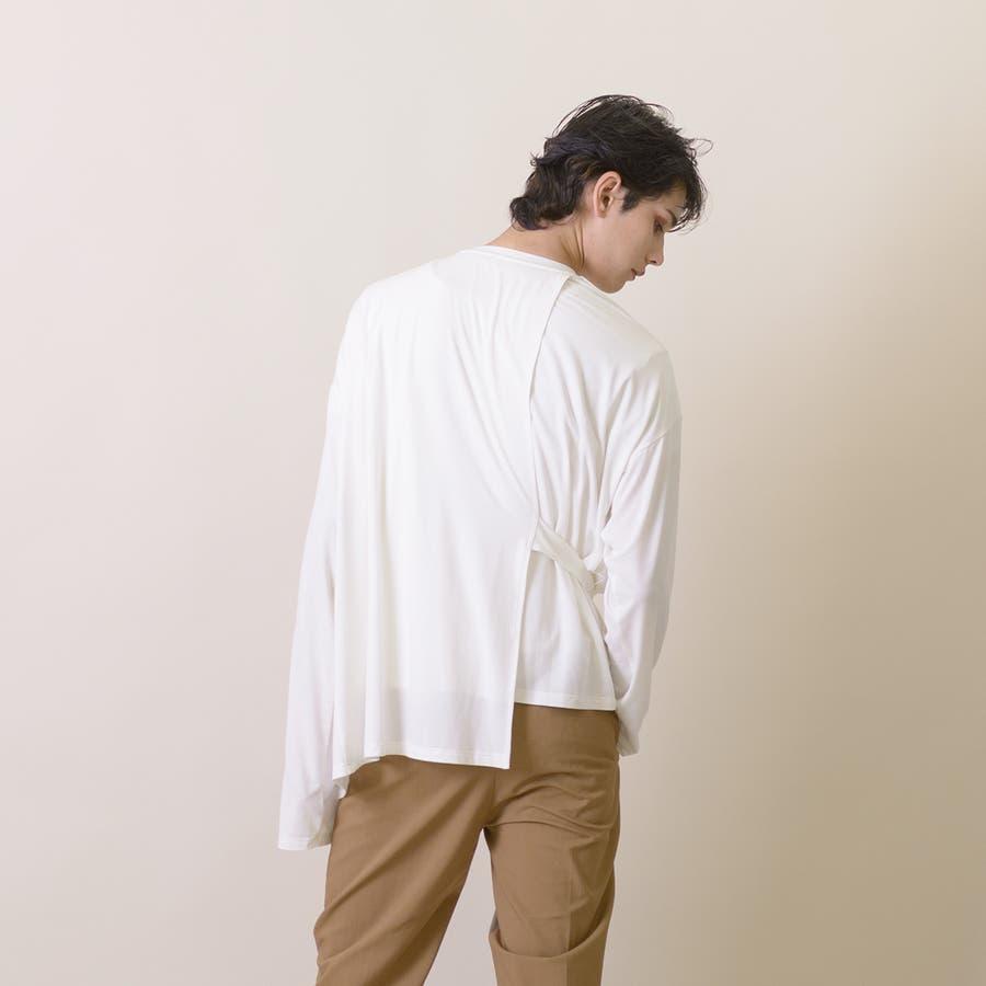変型ロングスリーブTシャツ 6
