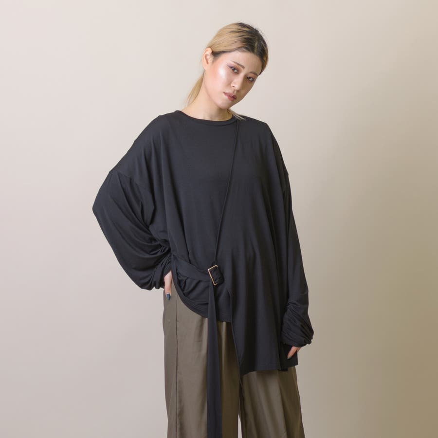 変型ロングスリーブTシャツ 9
