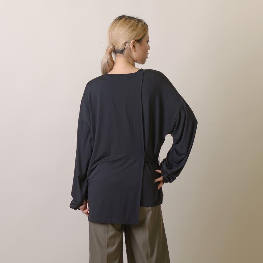 変型ロングスリーブTシャツ 10
